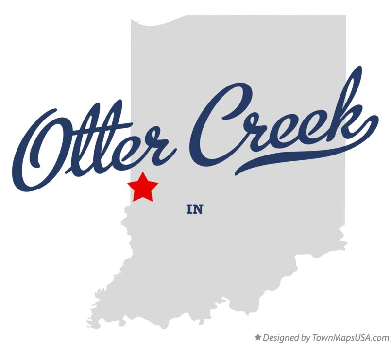 Map of Otter Creek Indiana IN