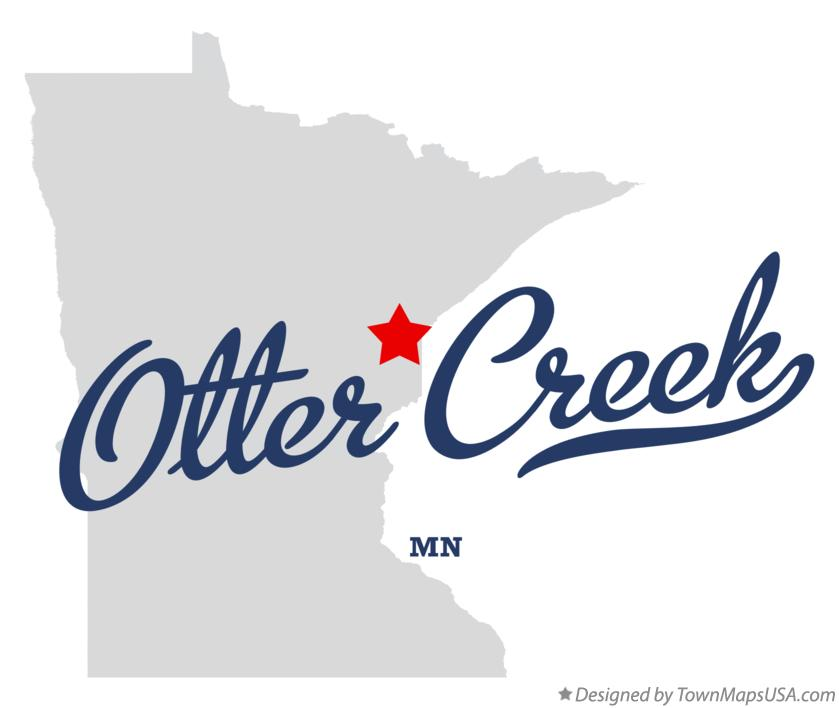 Map of Otter Creek Minnesota MN