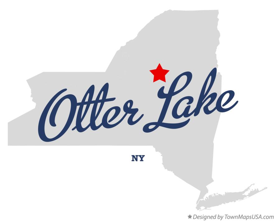 Map of Otter Lake New York NY