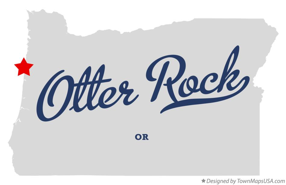 Map of Otter Rock Oregon OR