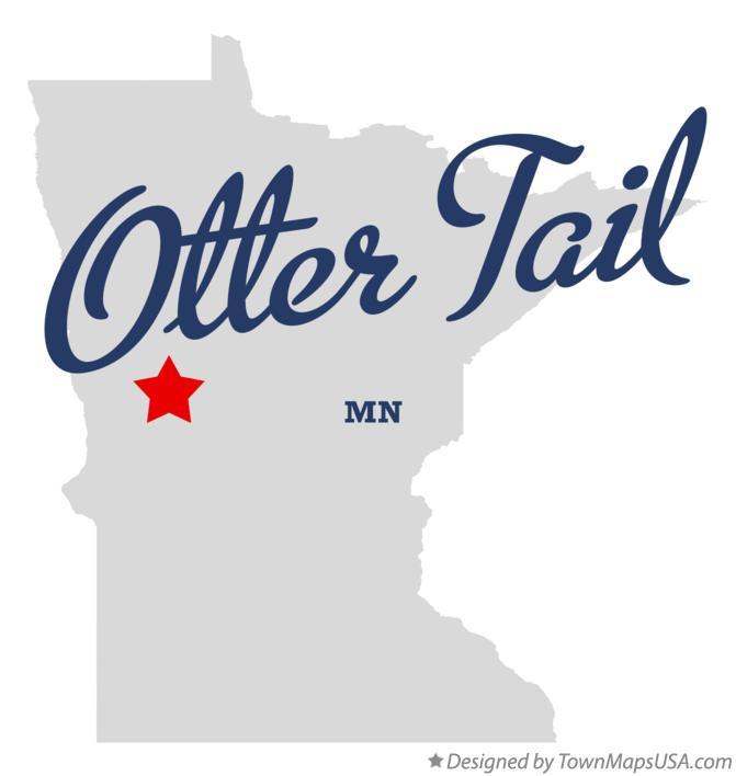 Map of Otter Tail Minnesota MN