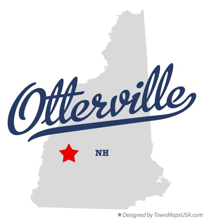 Map of Otterville New Hampshire NH