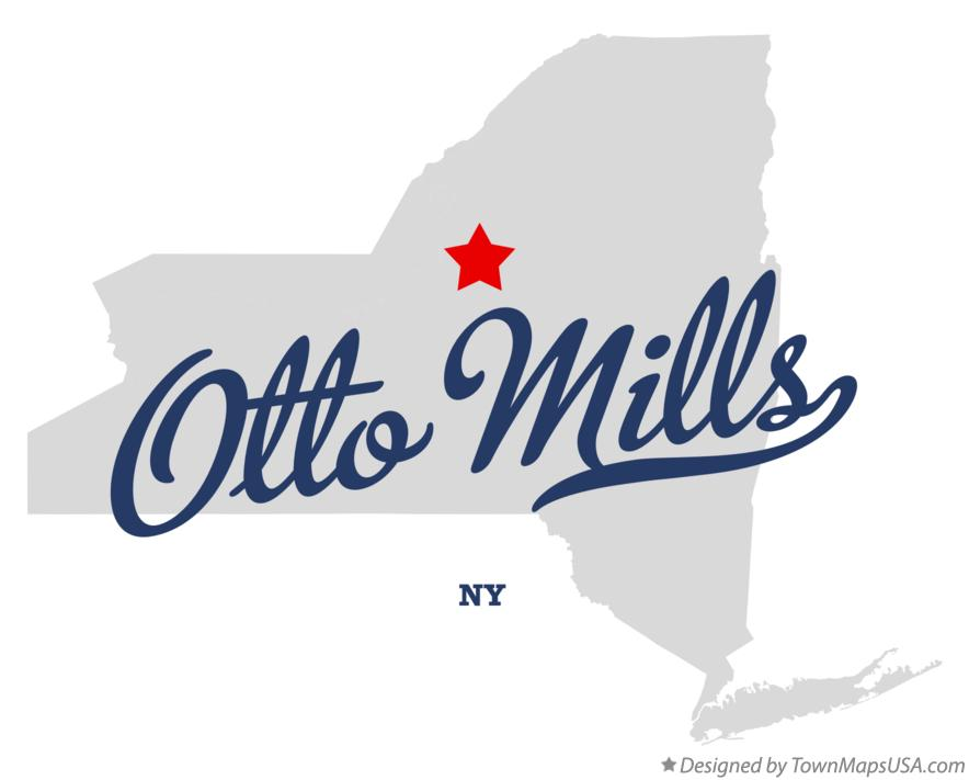 Map of Otto Mills New York NY