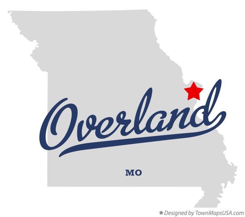 Woodson Terrace (MO) United States  city images : Map of Overland, MO, Missouri