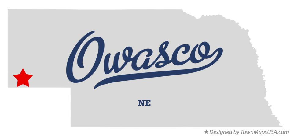 Map of Owasco Nebraska NE