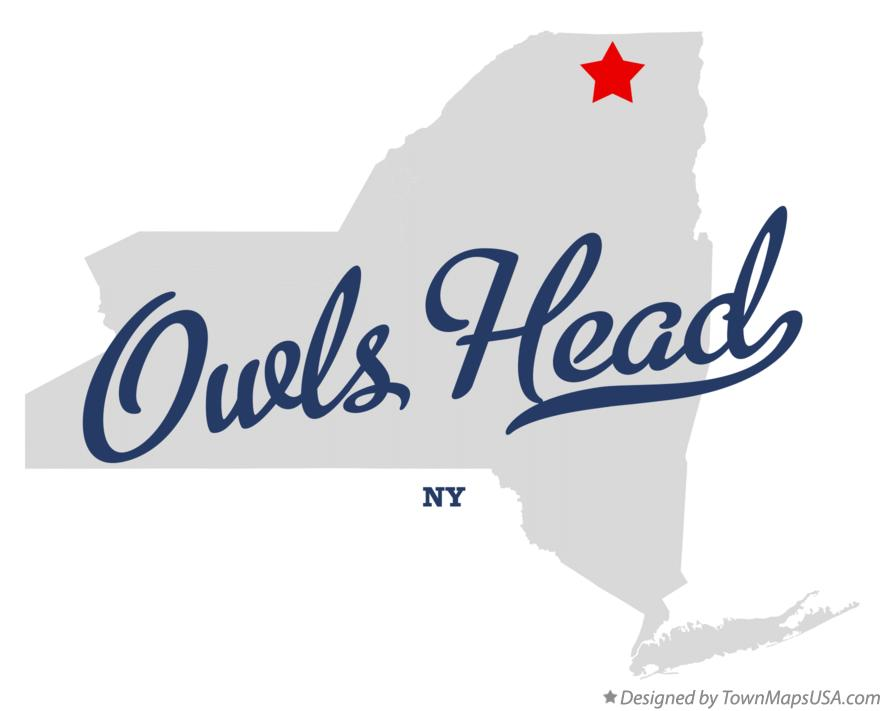 Map of Owls Head New York NY