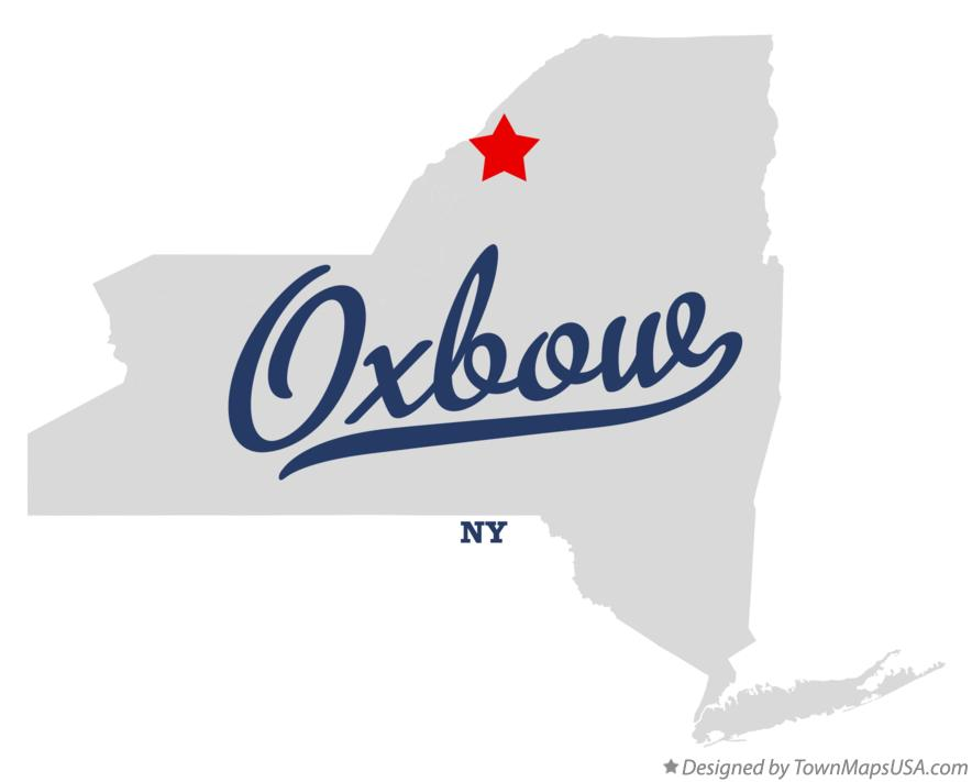 Map of Oxbow New York NY