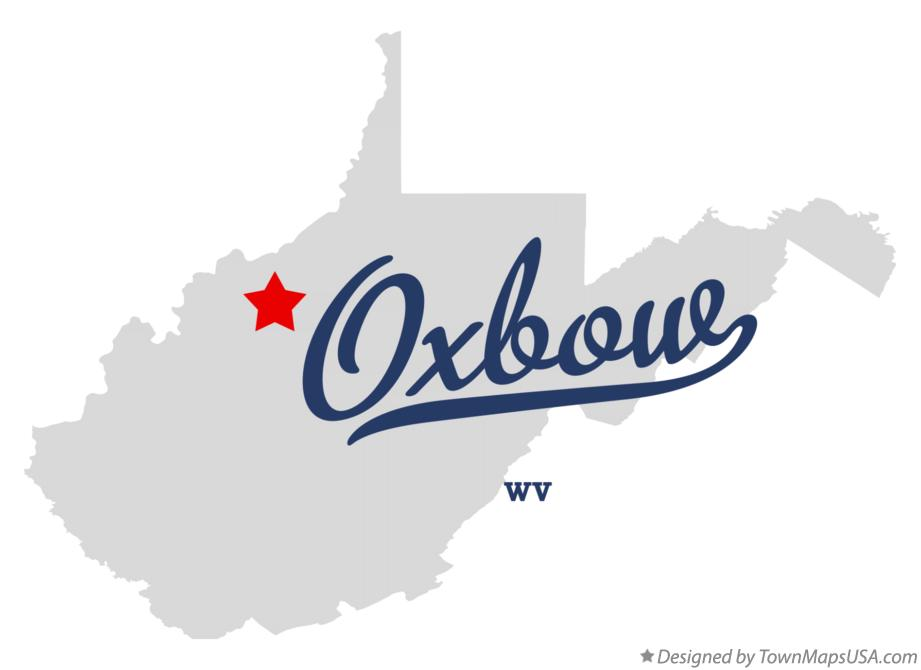Map of Oxbow West Virginia WV