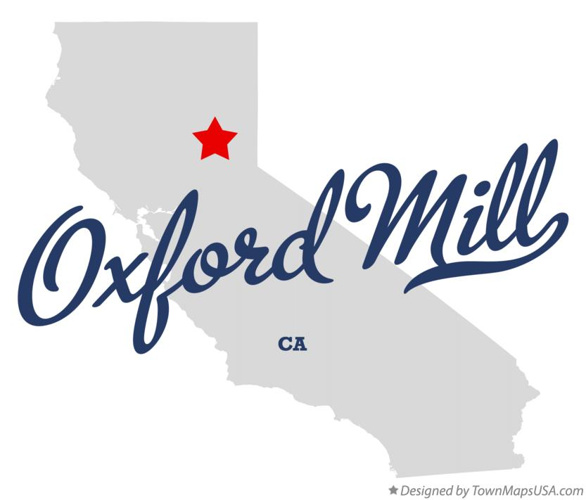 Map of Oxford Mill California CA