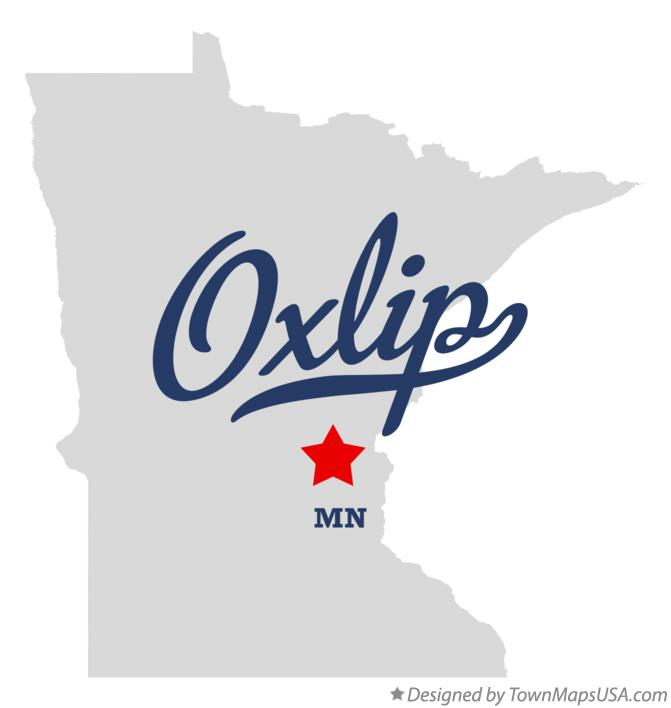 Map of Oxlip Minnesota MN