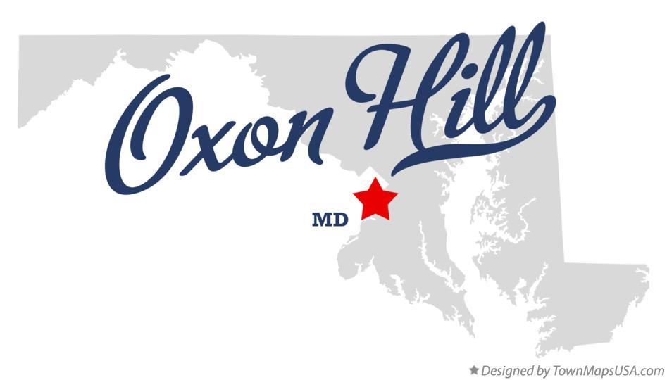 oxon hill maryland map Map Of Oxon Hill Md Maryland oxon hill maryland map