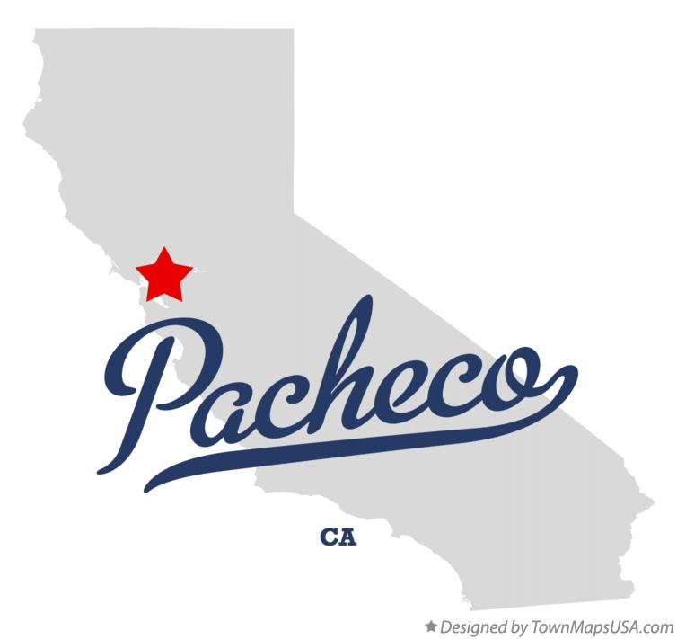 Pacheco California Map.Map Of Pacheco Ca California