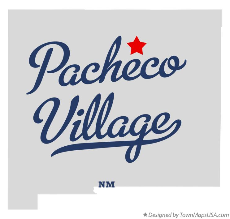 Map of Pacheco Village New Mexico NM