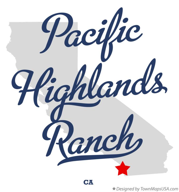 Map of Pacific Highlands Ranch California CA