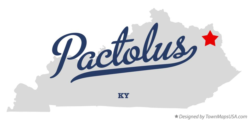 Map of Pactolus Kentucky KY