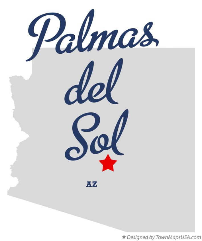 Map of Palmas del Sol Arizona AZ