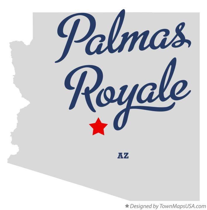 Map of Palmas Royale Arizona AZ