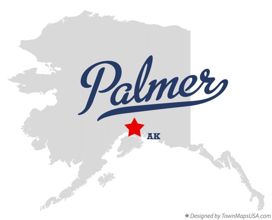 Wasilla Alaska Map Palmer Alaska Map