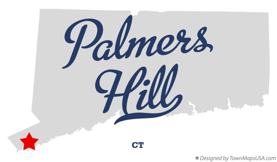 Map of Palmers Hill Connecticut CT