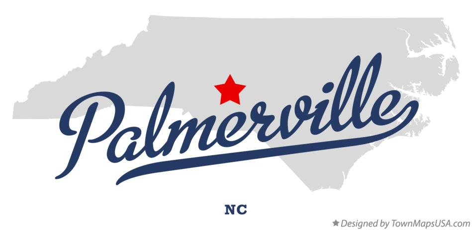 Map of Palmerville North Carolina NC