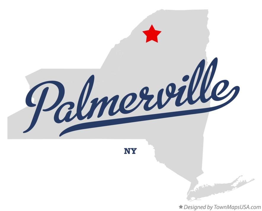 Map of Palmerville New York NY