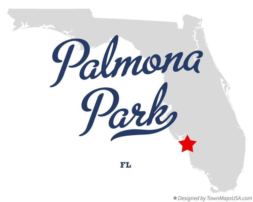 Map of Palmona Park Florida FL