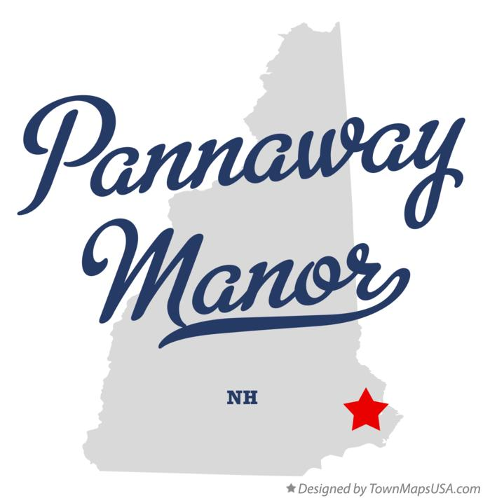 Map of Pannaway Manor New Hampshire NH