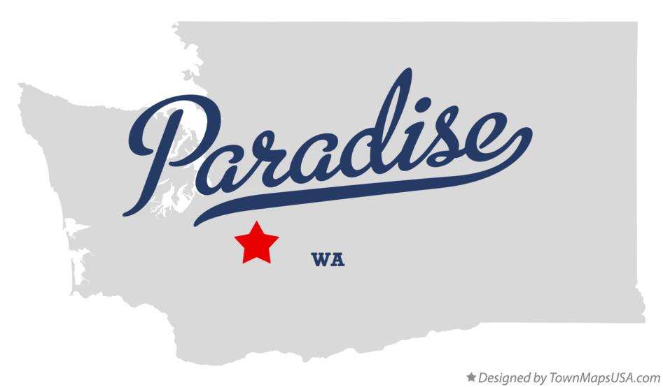 Map of Paradise Washington WA