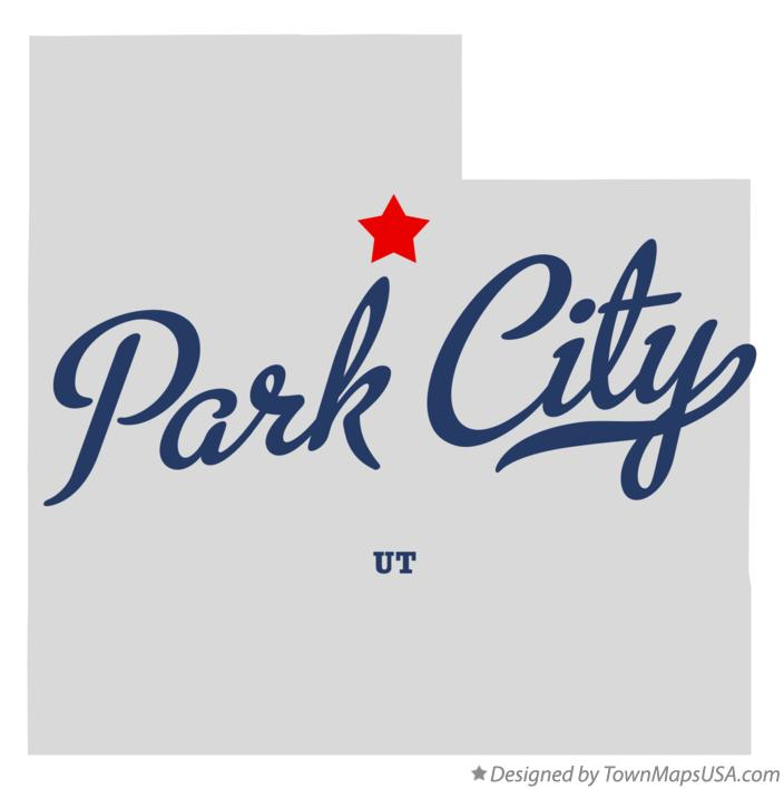 Map of Park City Utah UT