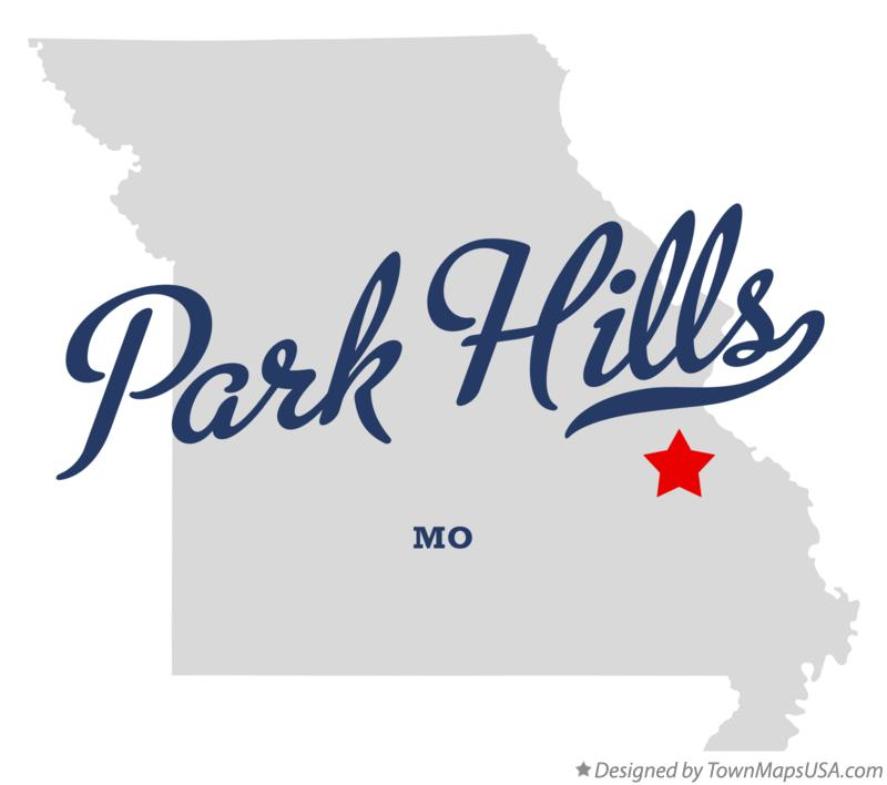 Map of Park Hills Missouri MO