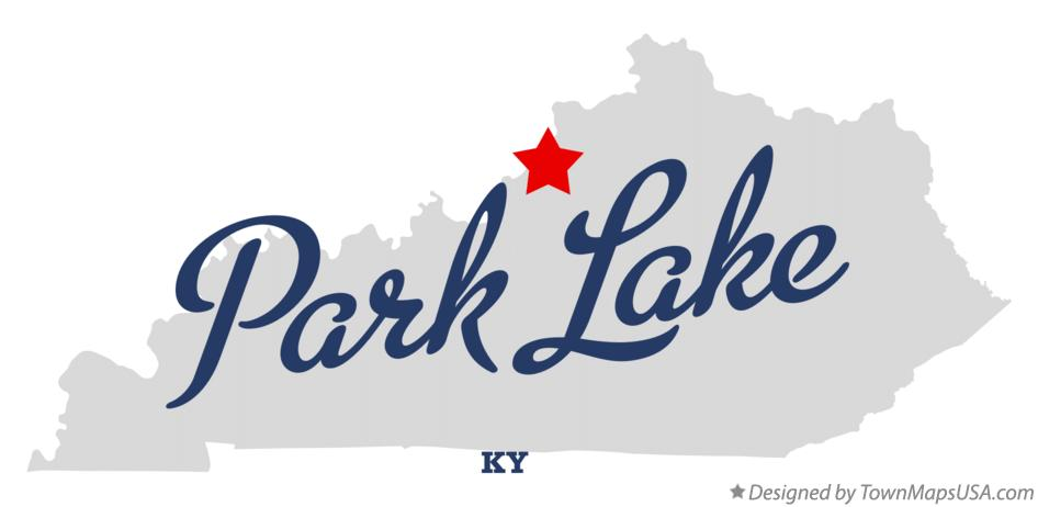 Map of Park Lake Kentucky KY