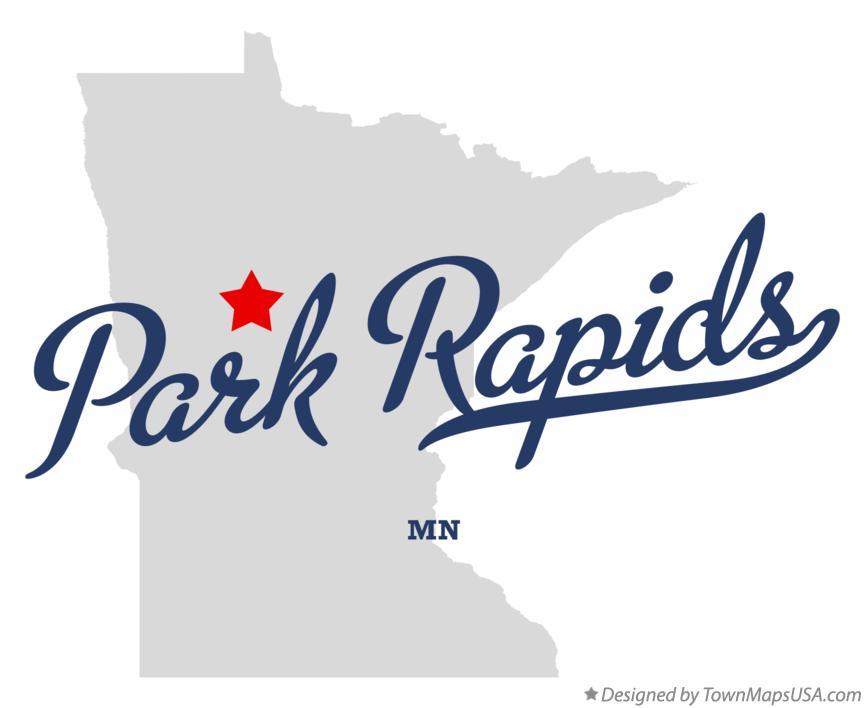 park rapids minnesota map Map Of Park Rapids Mn Minnesota park rapids minnesota map