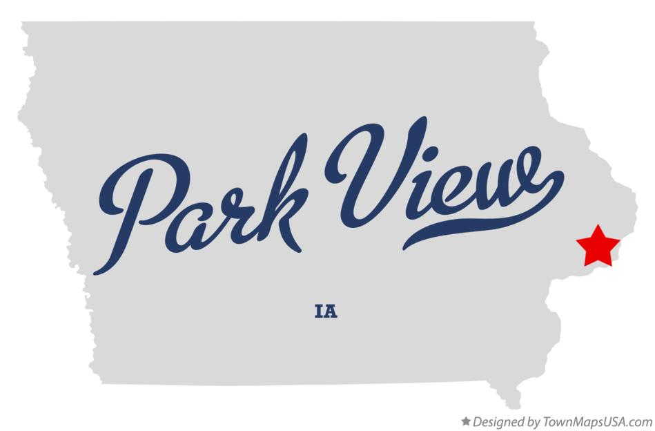 Map of Park View Iowa IA