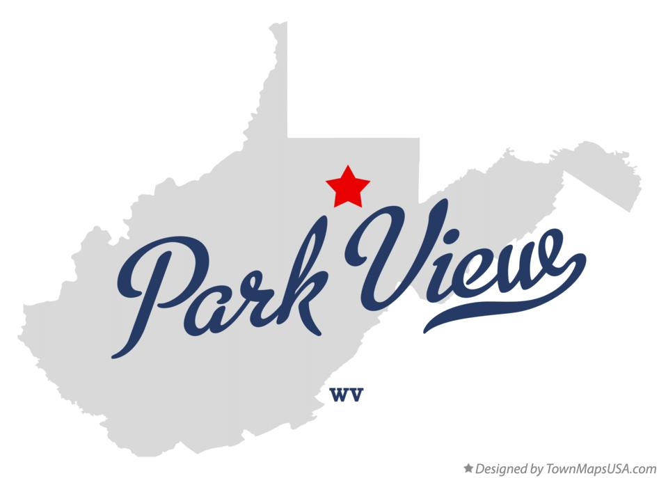 Map of Park View West Virginia WV