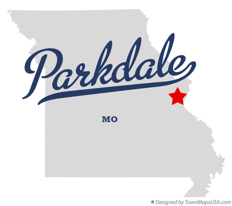 Map of Parkdale Missouri MO