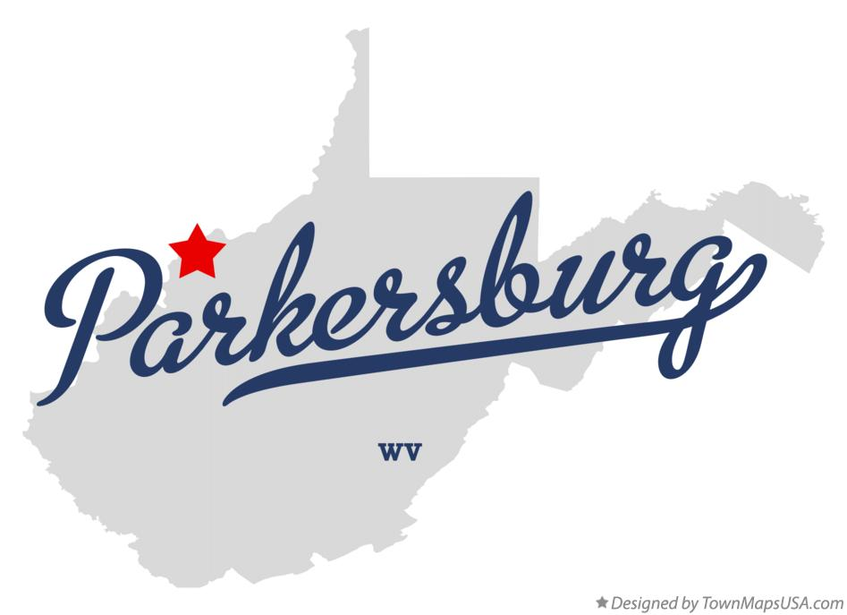 Parkersburg West Virginia Map.Map Of Parkersburg Wv West Virginia