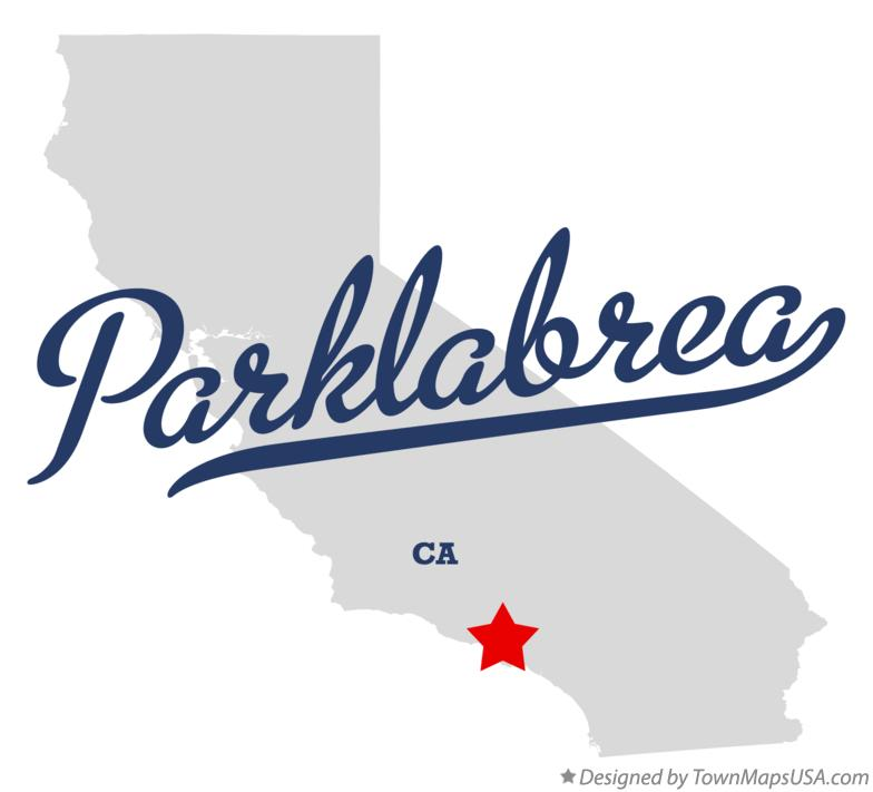 Map of Parklabrea California CA