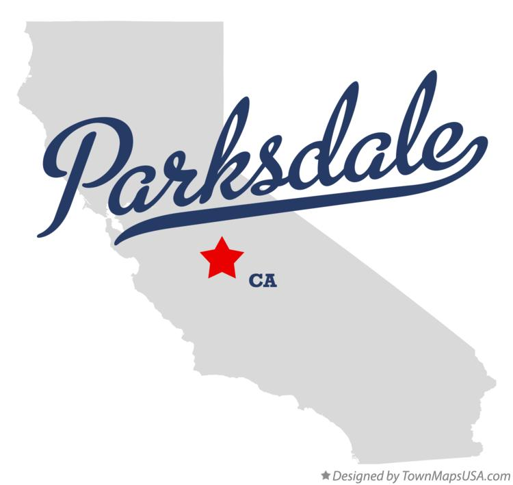 Map of Parksdale California CA