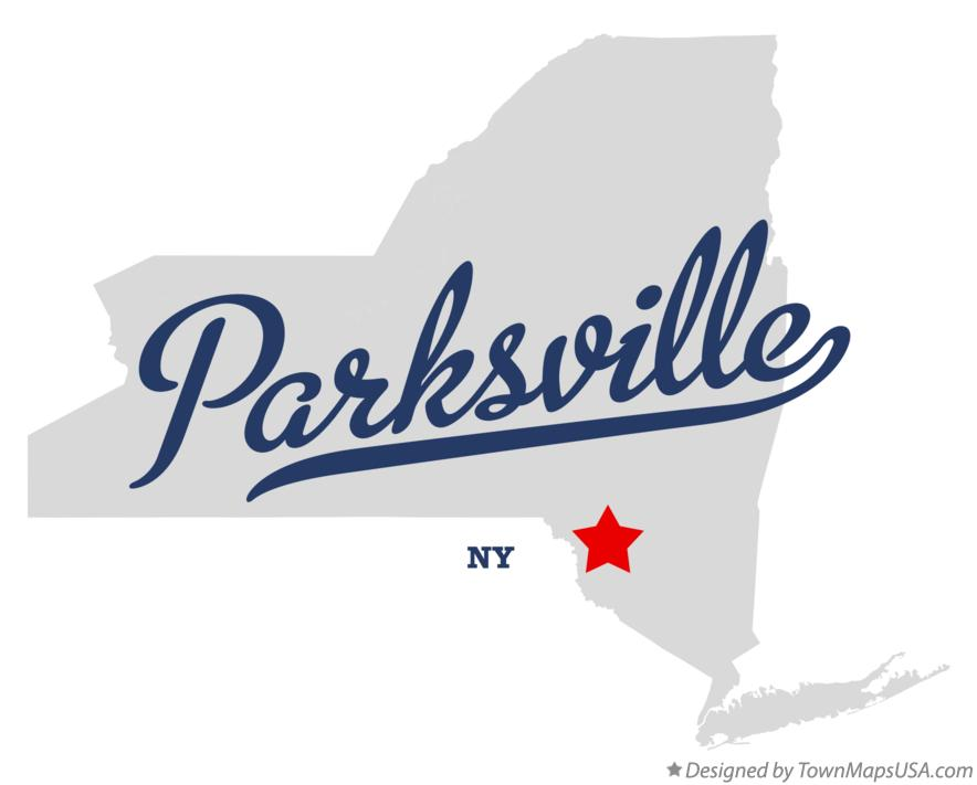 Map of Parksville New York NY