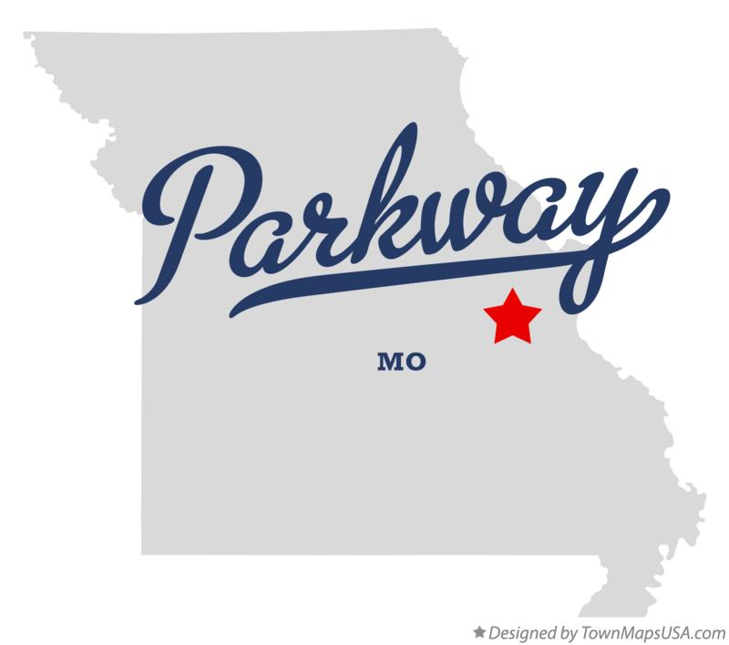 Map of Parkway Missouri MO