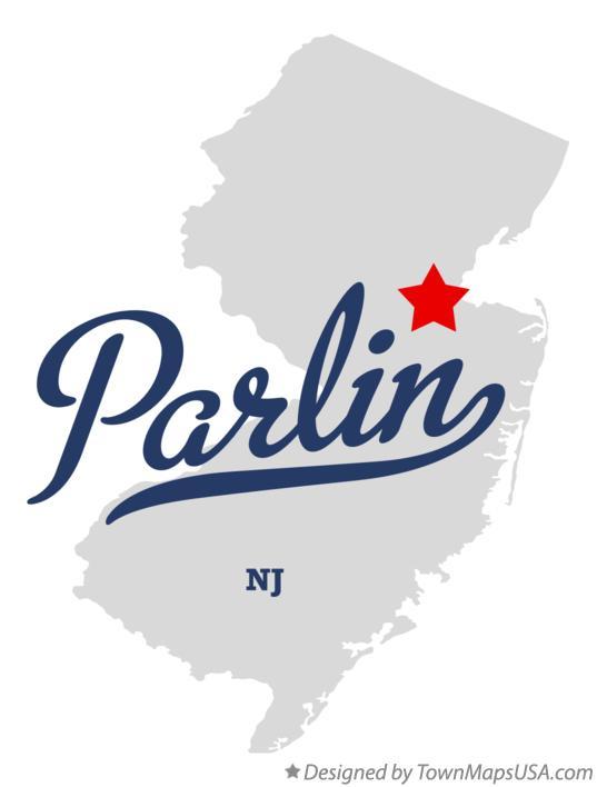 Map of Parlin New Jersey NJ