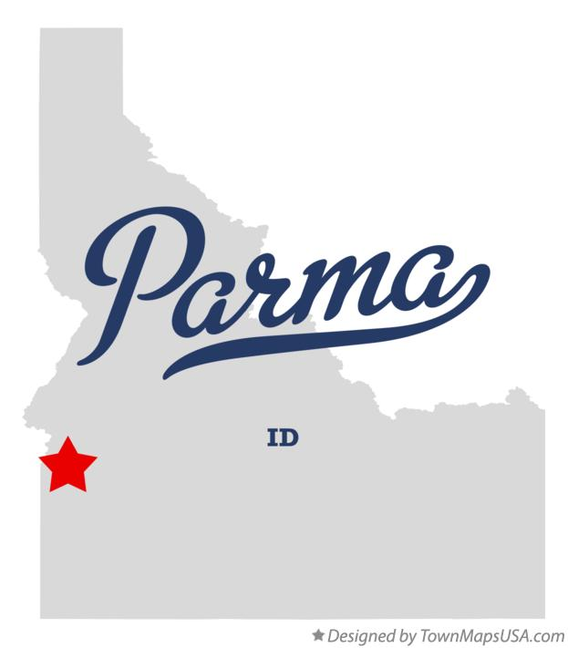 Map of Parma Idaho ID