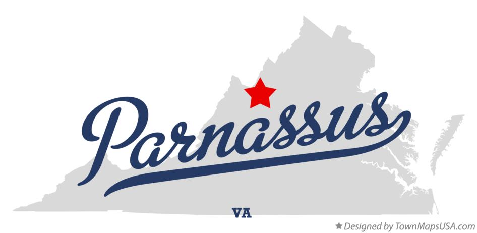 Map of Parnassus Virginia VA