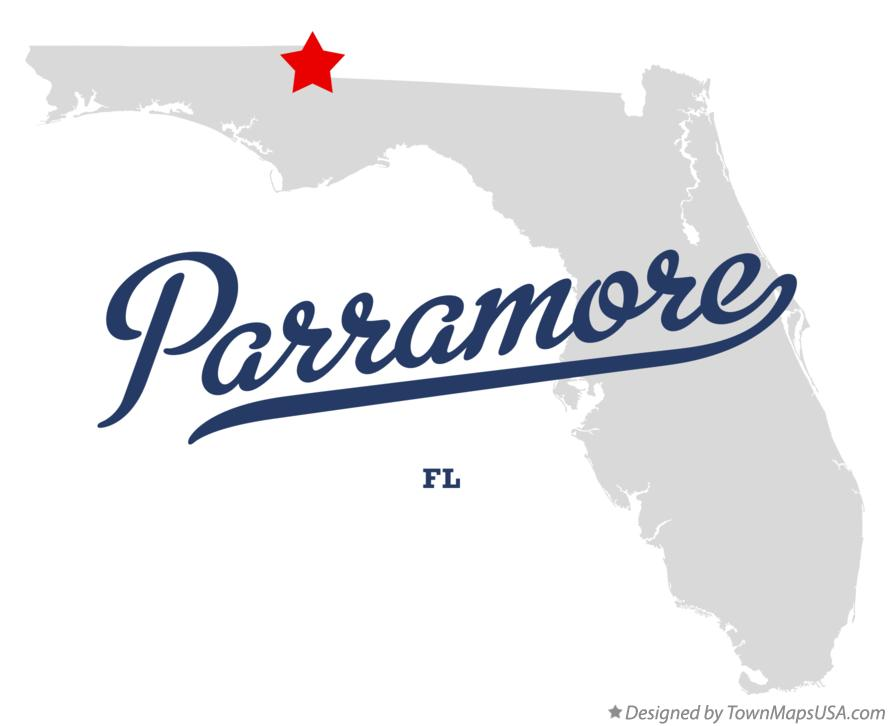 Map of Parramore Florida FL