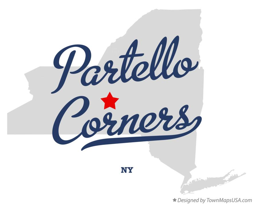 Map of Partello Corners New York NY