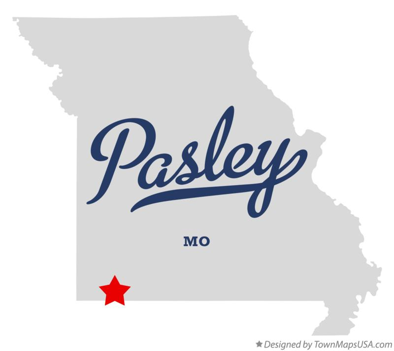 Map of Pasley Missouri MO