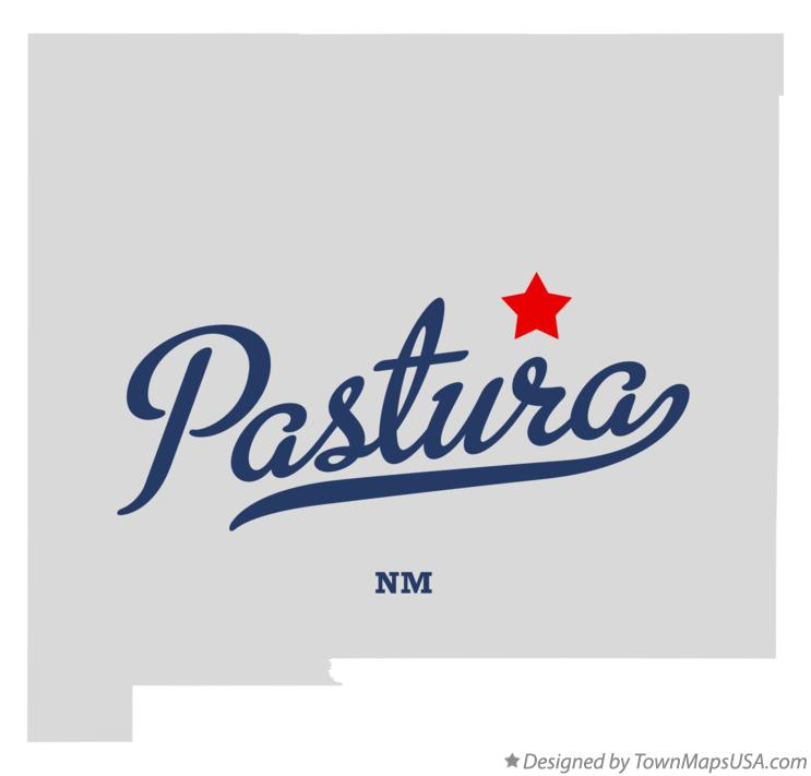 Map of Pastura New Mexico NM