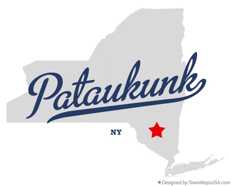 Map of Pataukunk New York NY