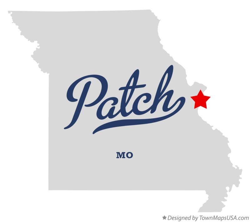 Map of Patch Missouri MO