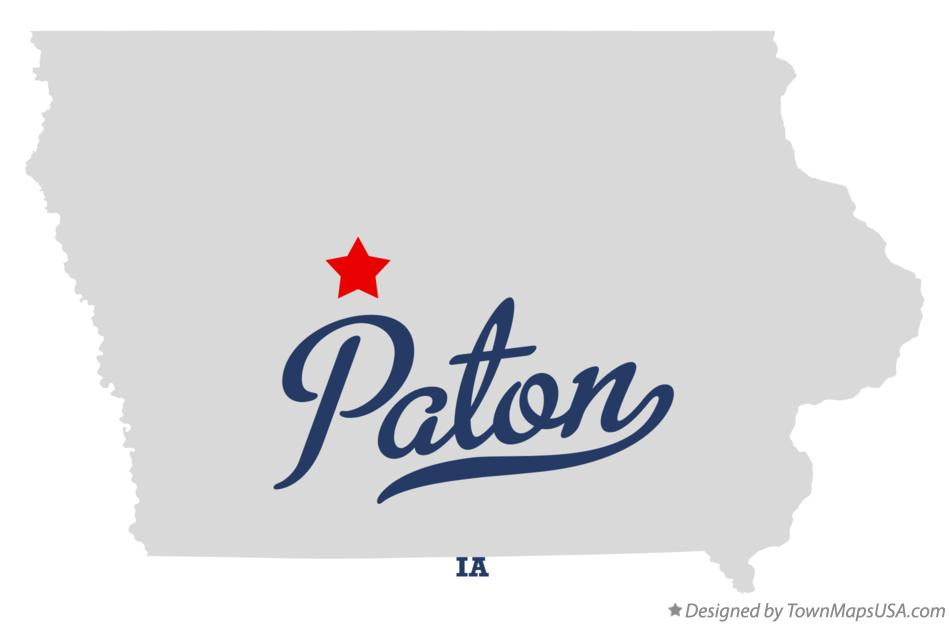 Map of Paton Iowa IA